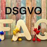 Fragen und Antworten zum Datenschutz - DSGVO FAQ's
