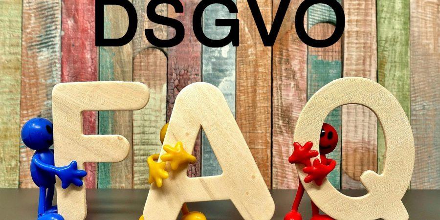 Q&A Datenschutz FAQ DSGVO