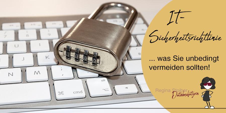 IT-Sicherheitsrichtlinie mit Vorlage