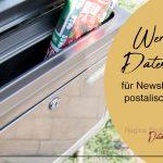 Werbung und Datenschutz - Welche Voraussetzungen sind bei Newsletter und postalischer Werbung zu beachten?