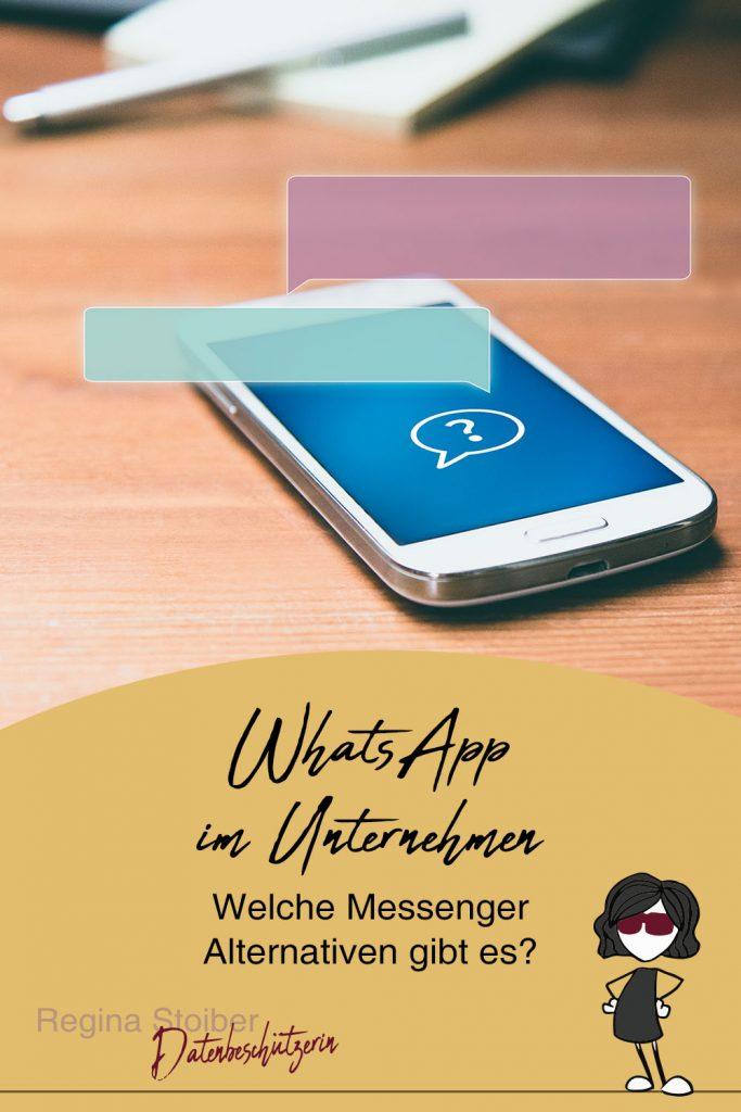 WhatsApp im Unternehmen - sichere Messenger Alternativen für Firmen