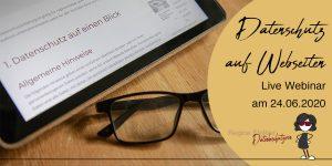 Datenschutz auf Webseiten