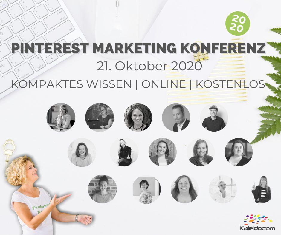 Pinterest Marketing Konferenz - alle Speaker