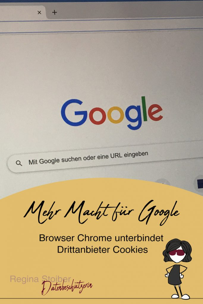 Google Chrome unterbindet Drittanbieter Cookies