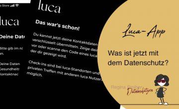 Luca-App - Datenschutz ja oder nein?