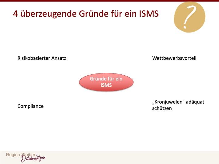 Warum Informationssicherheit - Gründe für ein ISMS