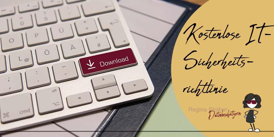 Download kostenlose IT-Sicherheitsrichtlinie