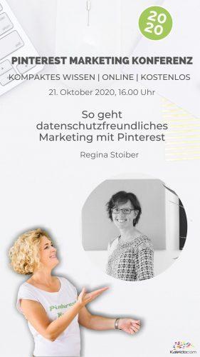 Pinterest Marketing Konferenz mit Barbara Riedl